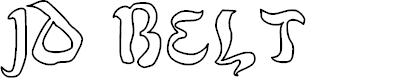 Preview image for JD Belt Font