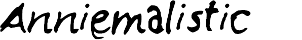 Preview image for Anniemalistic Font