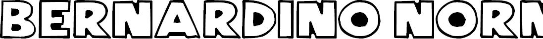 Preview image for Bernardino Normal Font