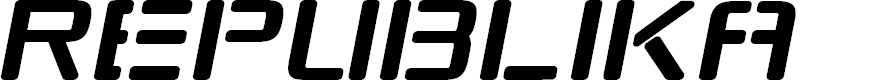 Preview image for Republikaps Italic