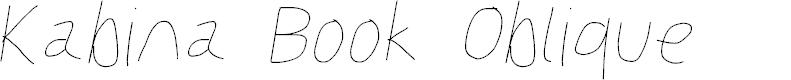 Preview image for Kabina Book Oblique