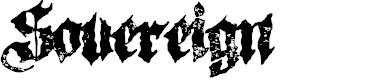 Preview image for Sovereign-Regular Font