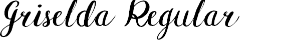 Preview image for Griselda Regular Font