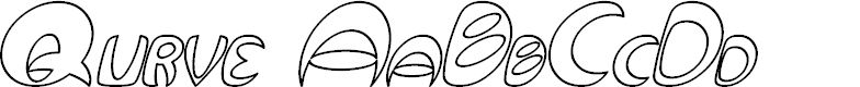 Preview image for Qurve Hollow Italic