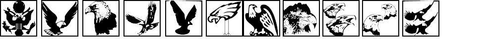 Preview image for BirdsInHeaven Font