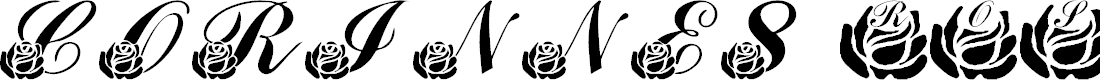 Preview image for LMS Corinne's Roses Font