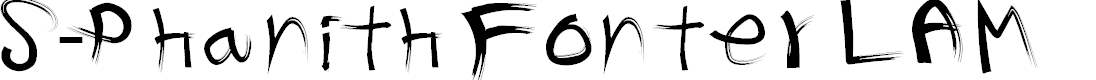 Preview image for S-Phanith Fonter LAM Font