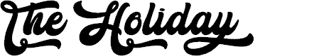 Preview image for The Holiday - Personal Use Font