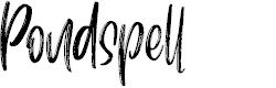 Preview image for Pondspell Font