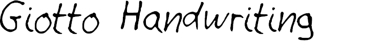 Preview image for Giotto Handwriting Font