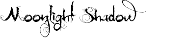 Preview image for MoonlightShadow Font