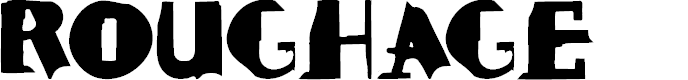 Preview image for ROUGHAGE Font
