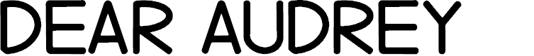 Preview image for Dear Audrey Font