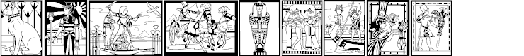 Preview image for Egyptian Font