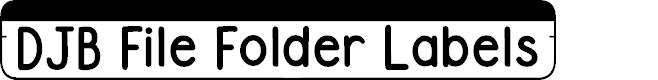 Preview image for DJB File Folder Labels
