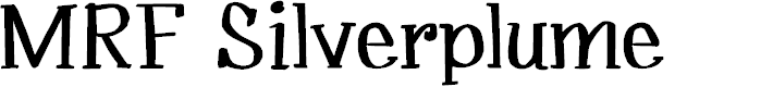Preview image for MRF Silverplume Font