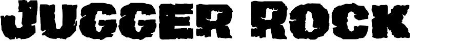 Preview image for Jugger Rock Font
