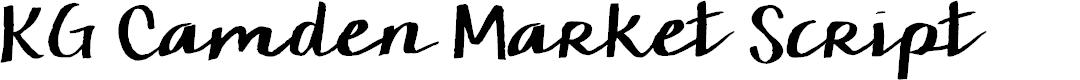 Preview image for KG Camden Market Script Font