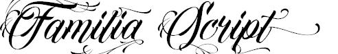 Preview image for Familia Script Font