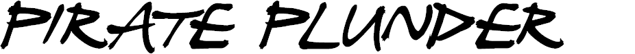 Preview image for Pirate Plunder Font