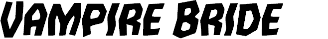Preview image for Vampire Bride Italic