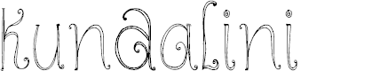 Preview image for DKKundalini Font