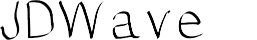 Preview image for JDWave Font