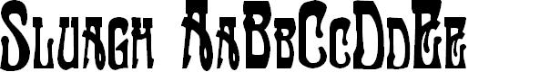 Preview image for Sluagh  Creepy Font