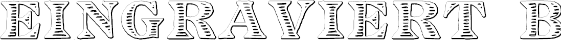 Preview image for Eingraviert Beveled Font