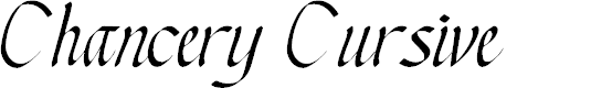 Preview image for Chancery Cursive Font
