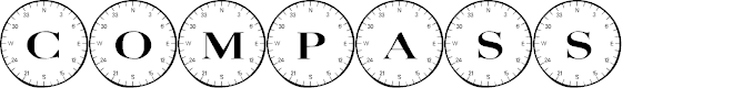 Preview image for 101! Compass Font
