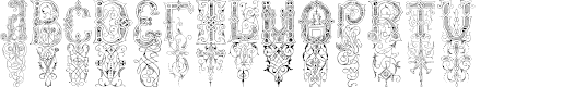 Preview image for ZamolxisOrnament Font
