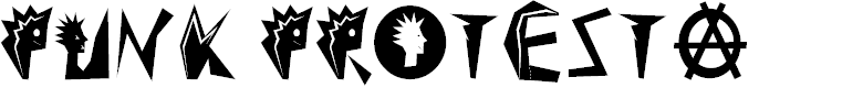 Preview image for Punk Protesta Font