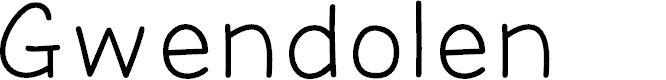 Preview image for Gwendolen Font