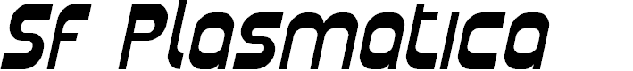 Preview image for SF Plasmatica Italic