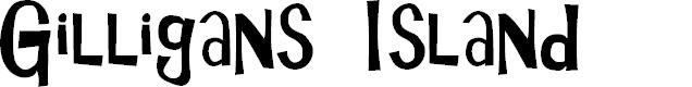 Preview image for Gilligans Island Font
