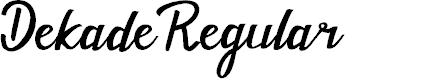 Preview image for Dekade Regular