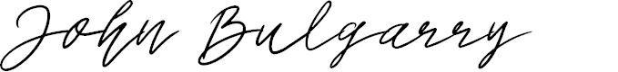 Preview image for John Bulgarry Font