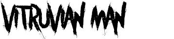 Preview image for Vitruvian Man Font