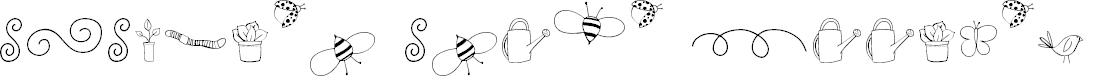 Preview image for GJ-Garden Gnome Doodles Regular Font