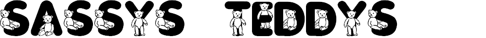 Preview image for Sassys Teddys 3 Font