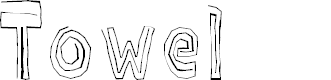 Preview image for Towel Font