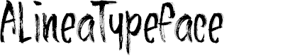 Preview image for AlineaTypeface Font