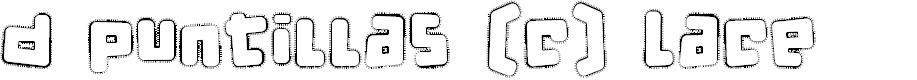 Preview image for d puntillas [c] Lace