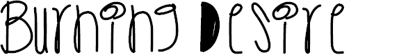 Preview image for BurningDesire Font