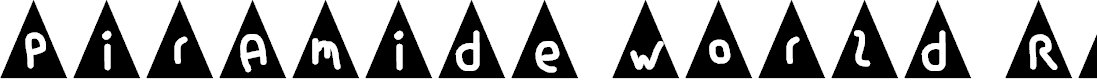 Preview image for piramide world Regular Font