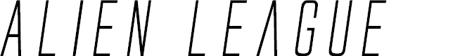 Preview image for Alien League Italic