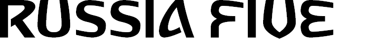 Preview image for Russia Five Font