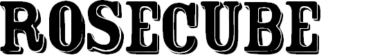 Preview image for FT Rosecube  normal Font