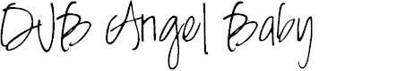 Preview image for DJB Angel Baby Font
